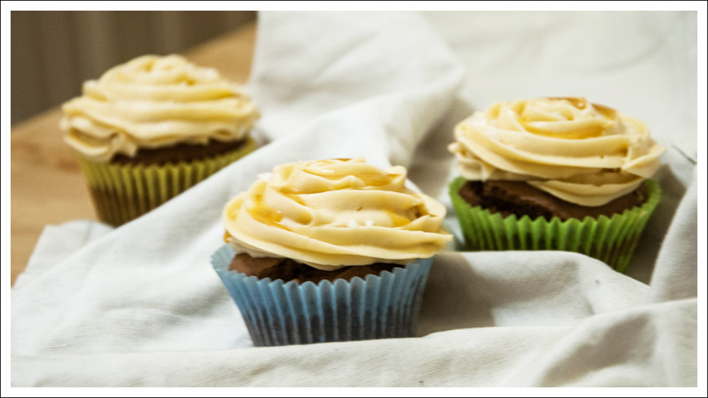 glutenfreie Erdnusscupcakes